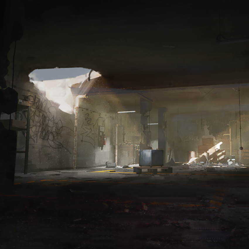 Arknights Background - Abandoned Depository 1.png