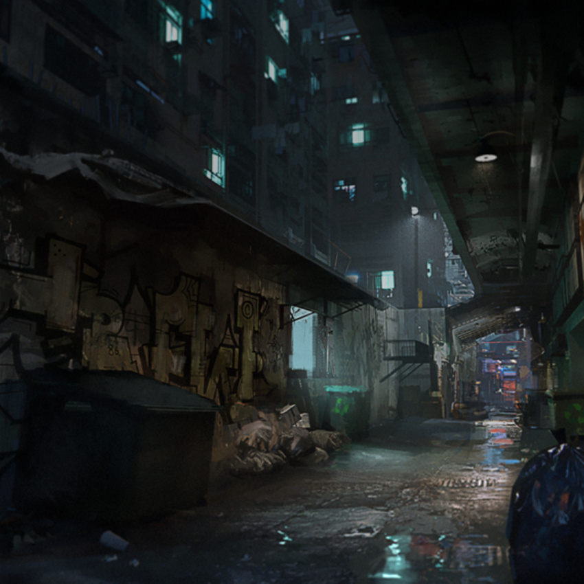 Arknights Background - Back Alley 1.png