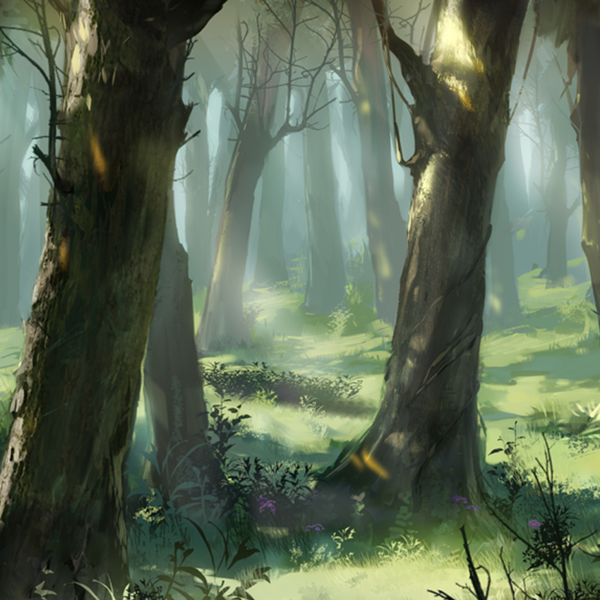 Arknights Background - Forest 2.png