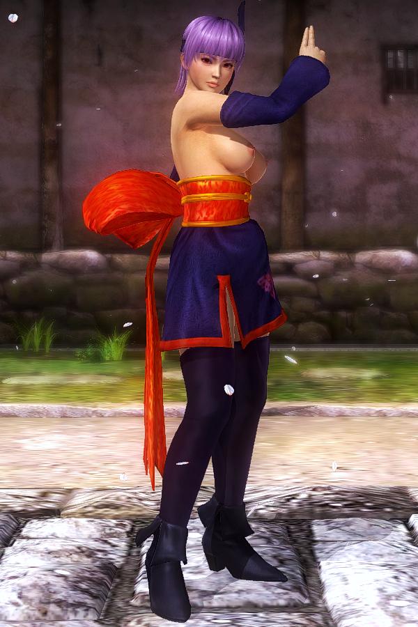 Ayane Butterfly Purple Topless.jpg