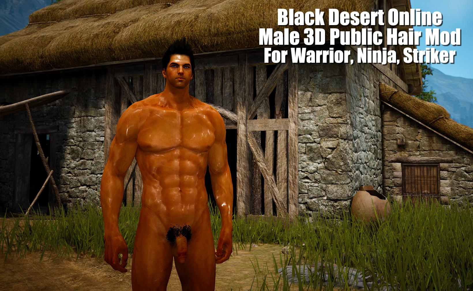 Black Desert Male 3D Public Hair Mod For Warrior, Ninja, Striker.jpg