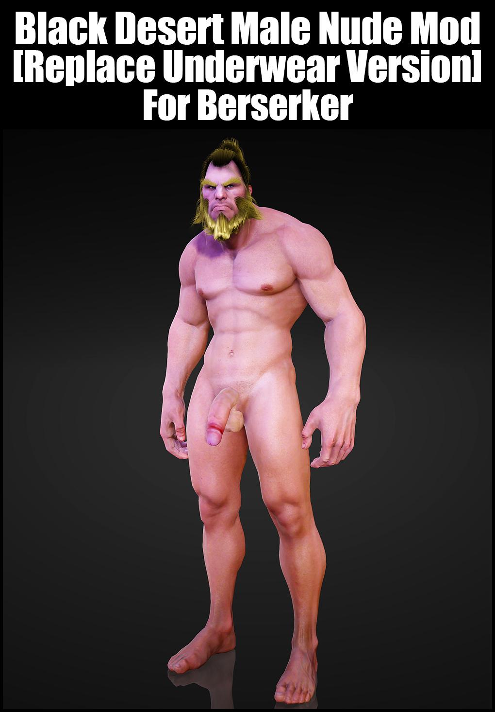 Black Desert Male Nude Mod [Replace Underwear Version] For Berserker.jpg
