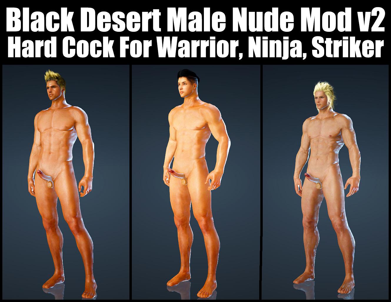 Black Desert Male Nude Mod V2 Hard Cock For Warrior, Ninja, Striker.jpg