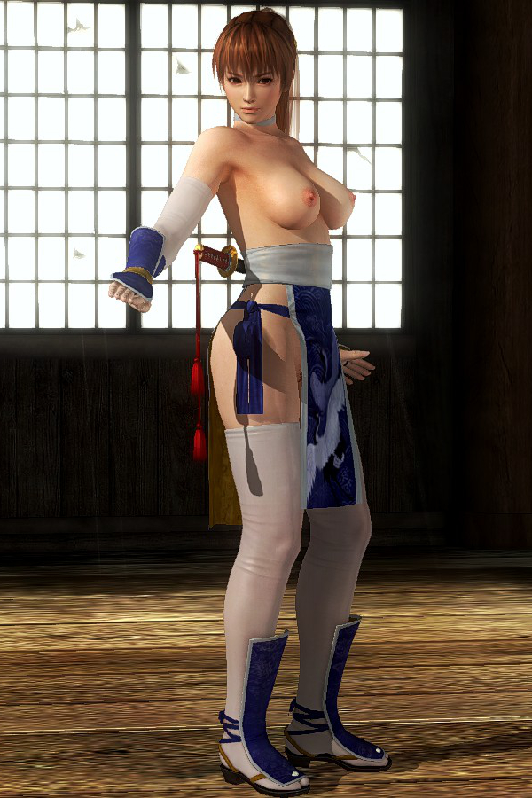 Kasumi Kunoichi Blue Topless.jpg